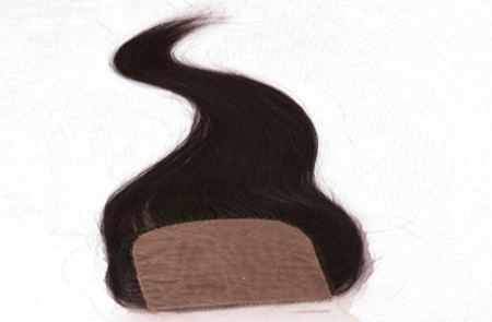 Silk Base Closures Human Hair Extensions