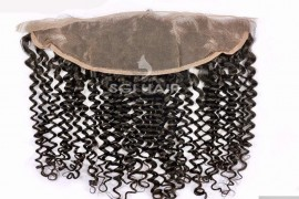 Lace Frontals - Straight - SGI Hair Hair Extension - Steam Curly