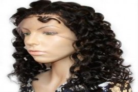 Full Lace Wigs Hair Extension - Steam Curly