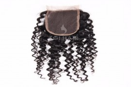 Lace Closures Hair Extension - Steam Curly