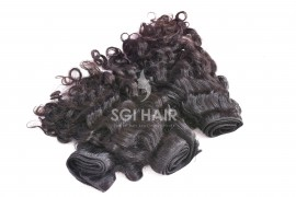 Machine Weft Hair Extension - Loose Curly