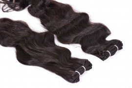 Machine Weft Hair Extension - Wavy