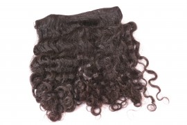 Machine Weft Hair Extension - Curly