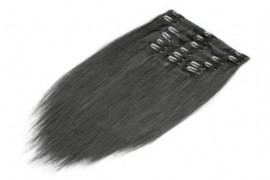 Clip In Hair Extension Hair Extension - Straight