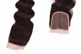 Lace Closures Hair Extension - Natural Body Wavy