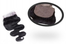 Silk Base Closures Hair Extension - Body Wavy
