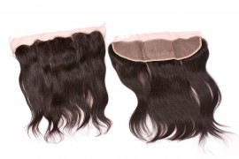 Lace Frontals - Natural Body Wavy - SGI Hair Hair Extension - Natural Straight